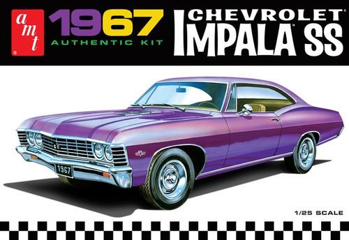 AMT #0981 1/25 1967 Chevy Impala SS
