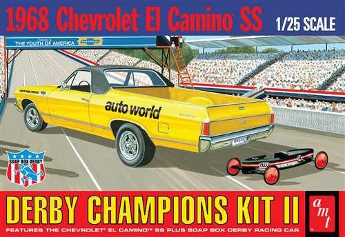 AMT # 1018 1/25 1968 Chevrolet El Camino SS
