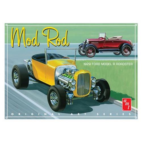 AMT #1000 1929 Ford Model A Roadster Mod Rod