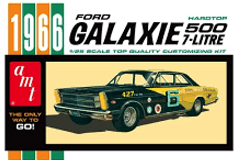AMT  #904 1/25 1966 Ford Galaxie 500 7 Litre Hardtop