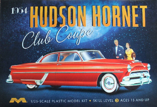 Moebius Models #1213 1/25 1954 Hudson Hornet Club Coupe
