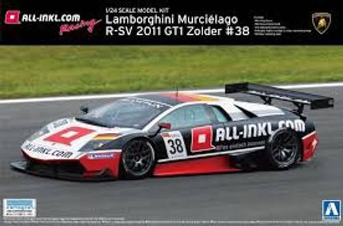 Aoshima #0714 1/24 2011 Lamborghini Murcielago R-SV GT1