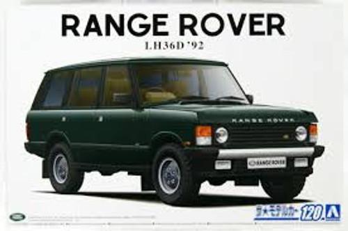 Aoshima #5796 1/24 1992 Range Rover LH36D