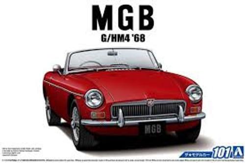 Aoshima #5685 1/24 1968  MGB G/HM4 Roadster