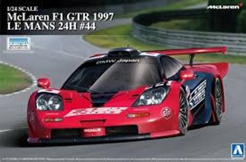 Aoshima #7518 1/24 1997 McLaren F1 GTR Le Mans