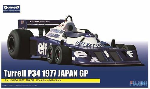 Fujimi #092058 1/20 1977 Tyrrell P34 Japan GP