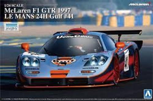 Aoshima #7471 1/24 McLaren F1 GTR 1997 Le Mans 24H