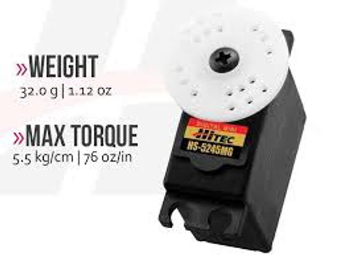 Hitec #HS-5245MG Digital Mini Servo