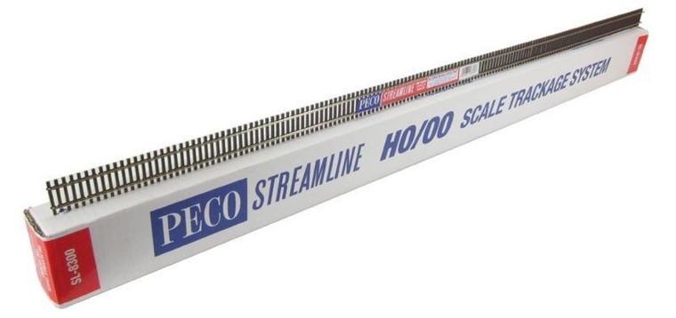 Peco #SL-8300 Code 83 Wooden Tie Flexi Track
