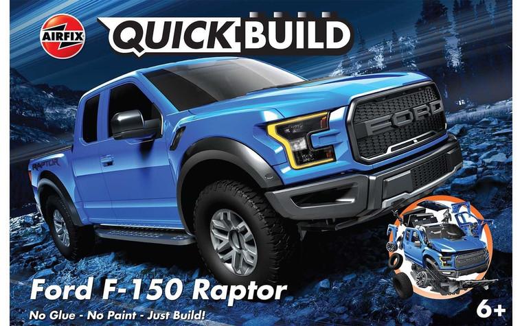 Airfix #J6037 Ford F-150 Raptor-Quick Build