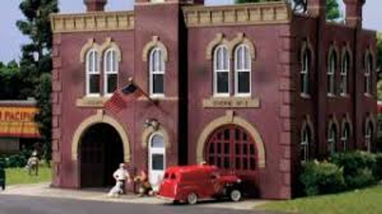 Landmark Structures #BR5034 HO Firehouse