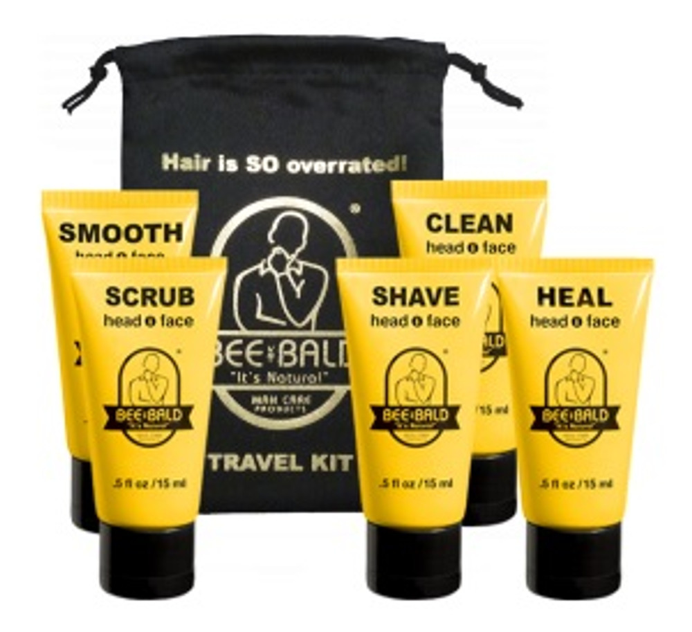 BEE BALD Travel Kit (5 pc.)