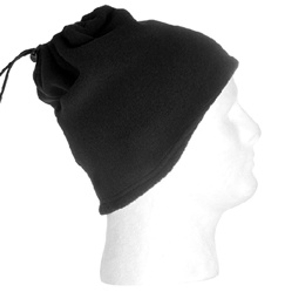 Neck Gaitor and Cap, Black
