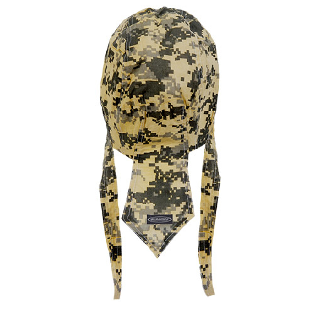 Rider Headwrap - Military - Camo - Green