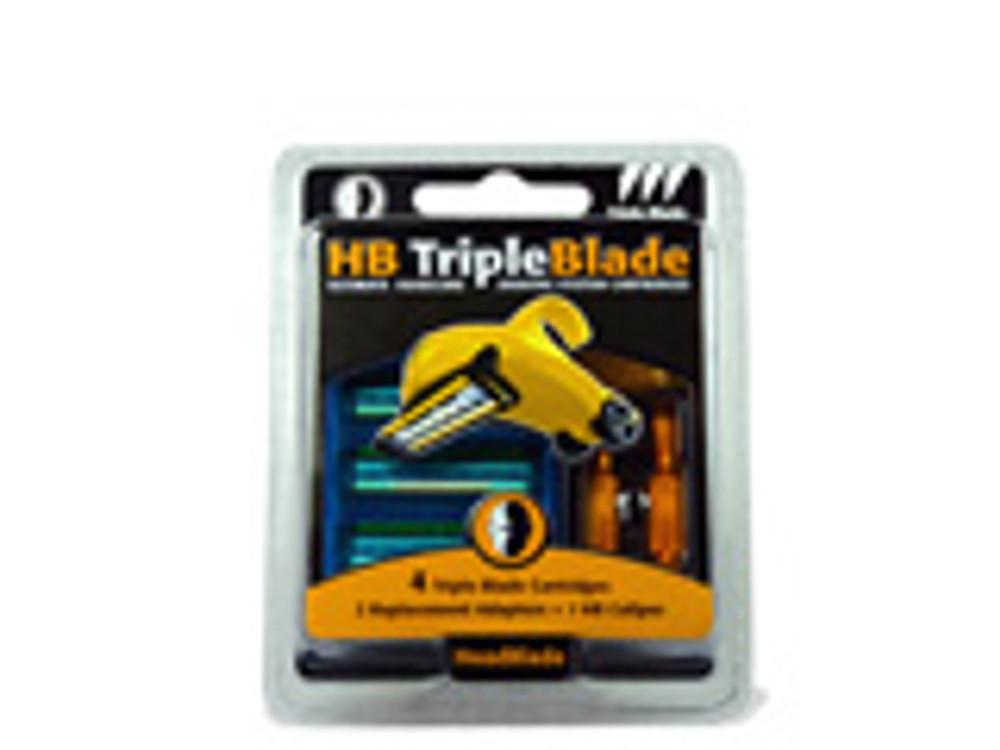 Triple Blade Accessory Kit - 4 Cnt - HeadBlade.