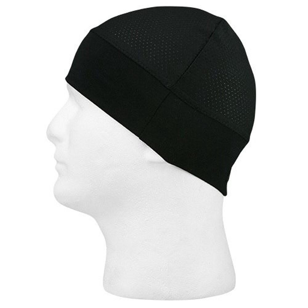 Schampa - Stretch Ringer Skull Cap - Mesh - Black