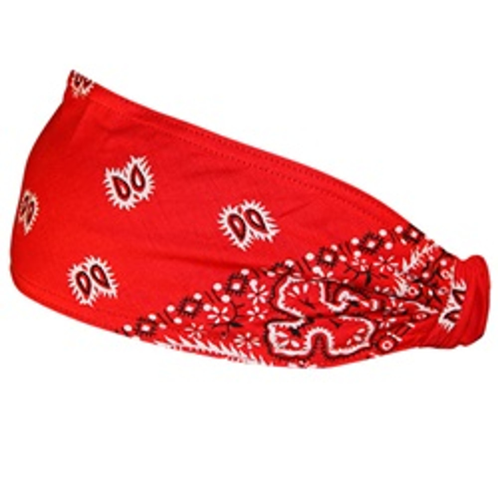 Mini DooZ - Red Ground White Paisley