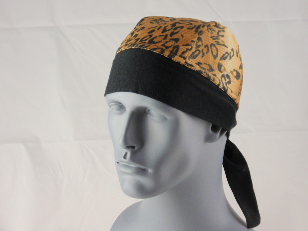 Schampa, Z-wrap, Stretch Bandana, Wild Leopard Brown