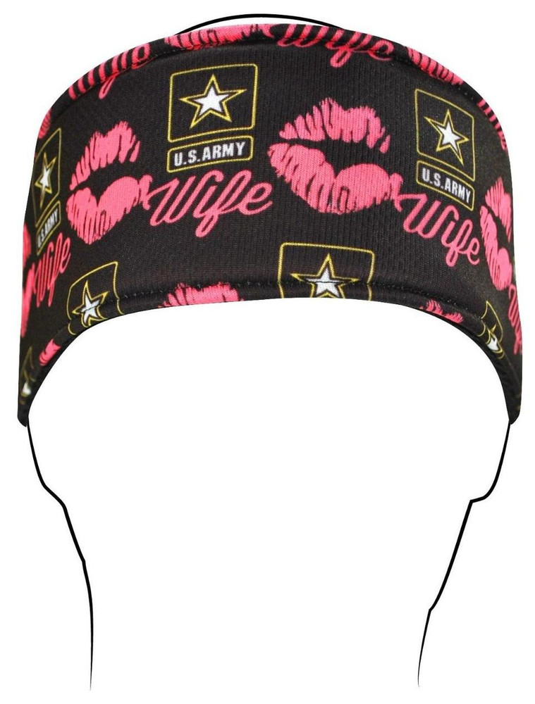 Headband, Army Wife Kisses