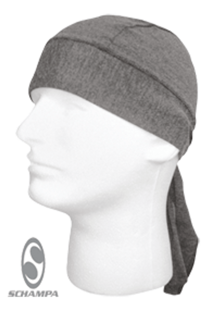 Schampa, Z-wrap, Stretch Bandana, Dark Grey