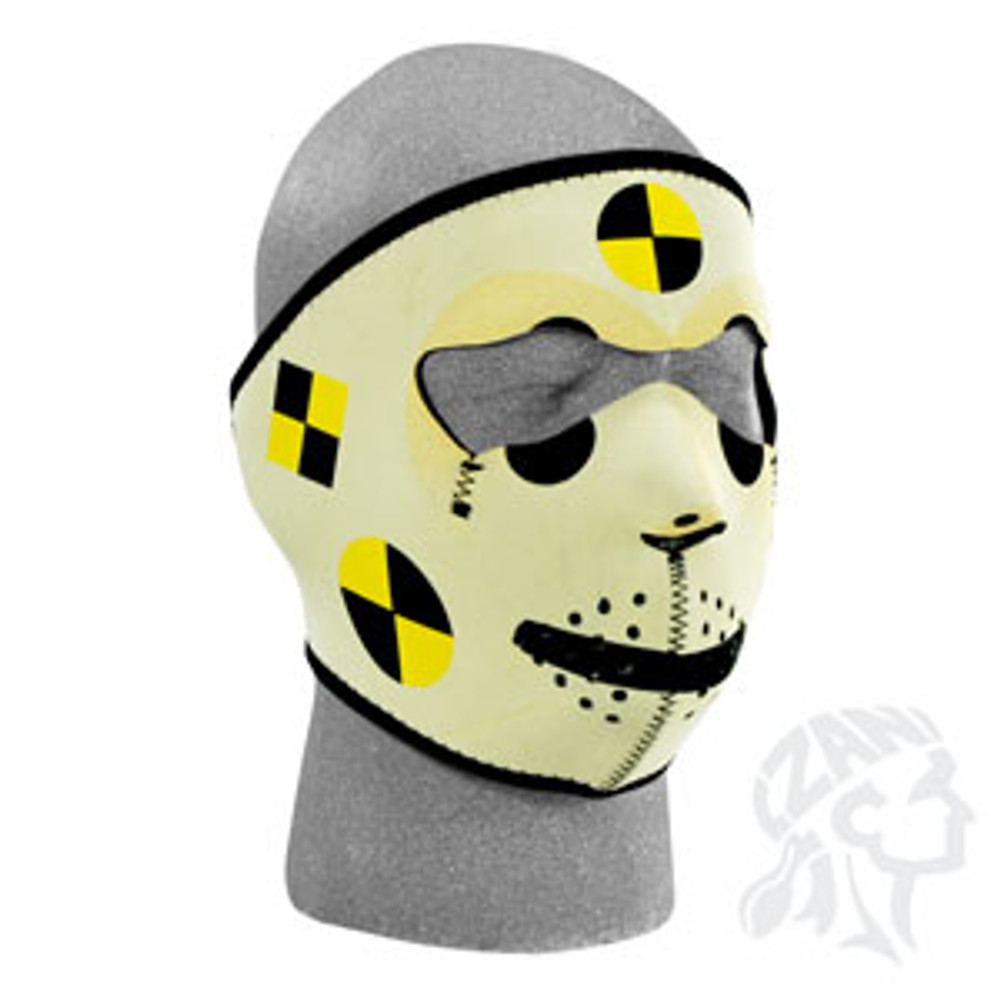 Crash Test Dummy - Neoprene Face Mask
