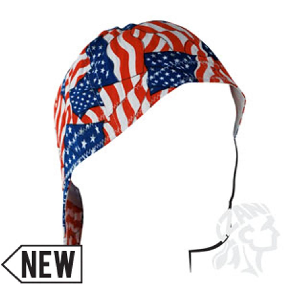 Welder's Cap - Wavy Flag