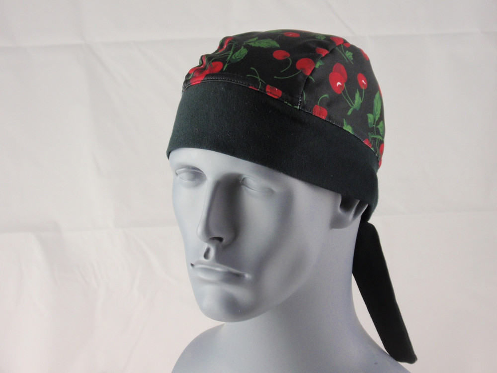 Schampa, Z-wrap, Stretch Bandana, Black Cherries
