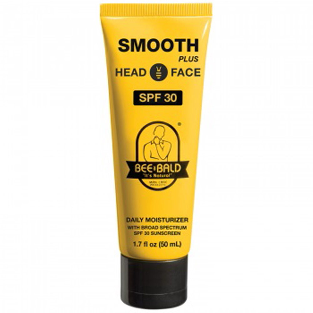 BEE BALD SMOOTH PLUS WITH BROAD SPRECTRUM SPF 30 - 1.7 oz. Tube