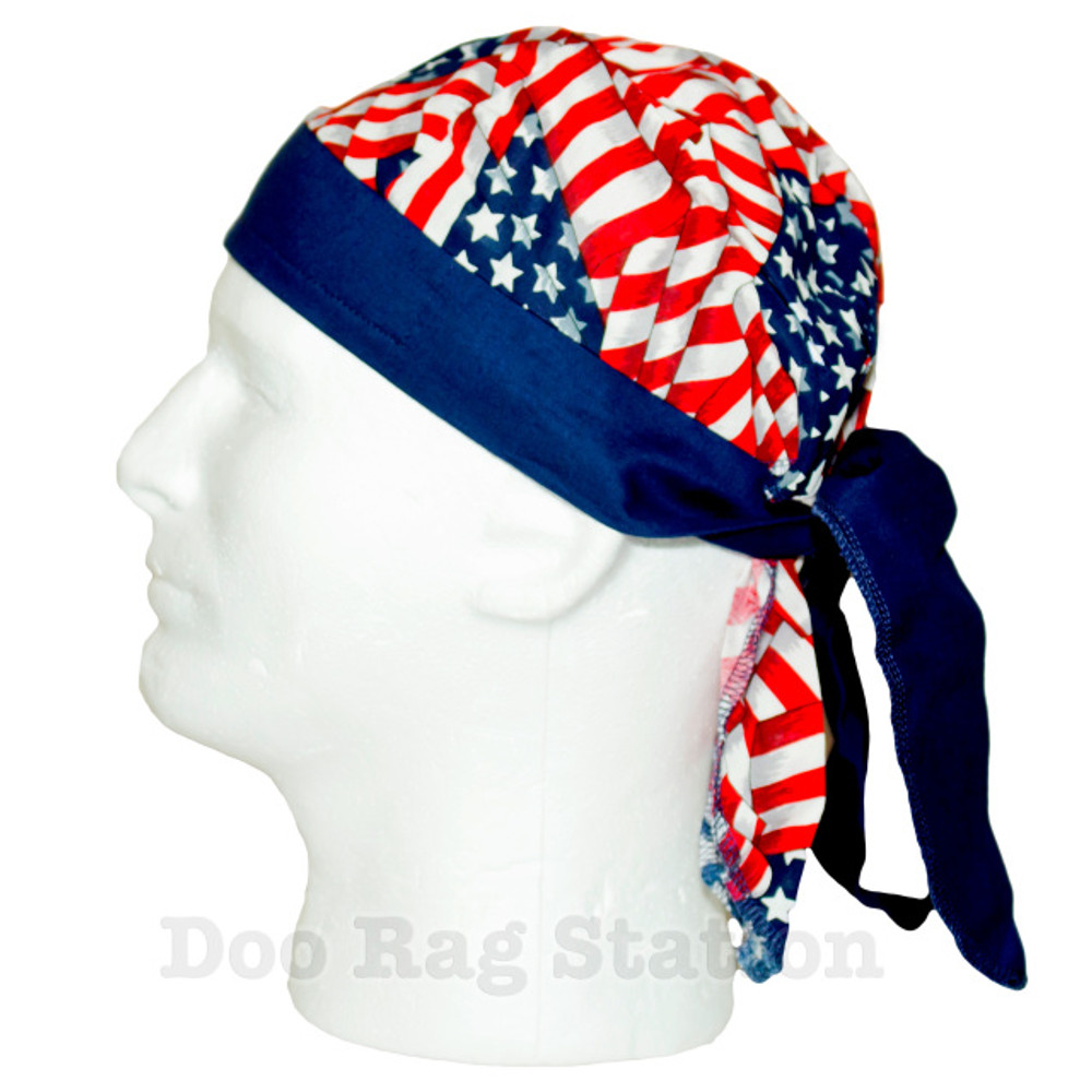 American Flag By Doo Rag Station