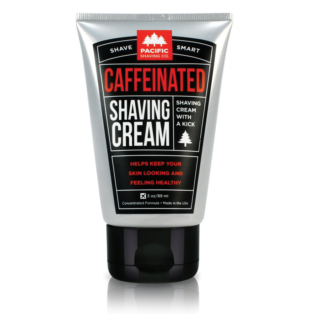 Caffeinated Shaving Cream - Pacific Shaving Company