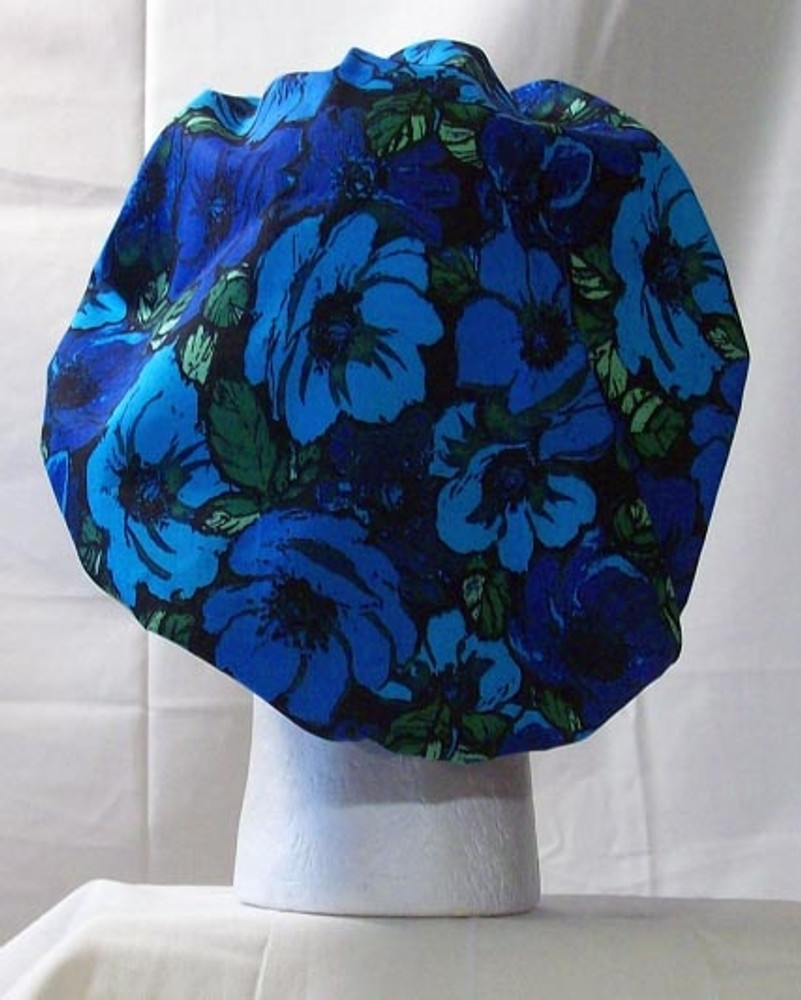 Bouffant Style Scrub Cap - Flower Mix