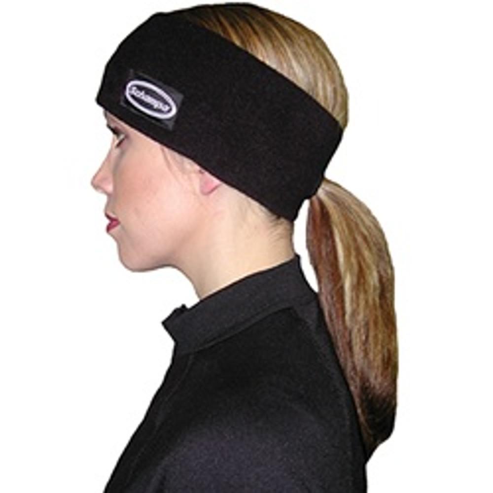 Fleece Double Layer Pony Tail Headband