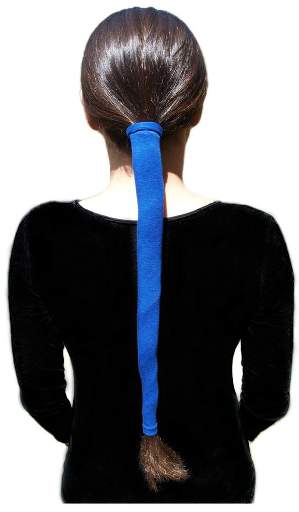 Wrapter Pony Tail Wrap - Blue