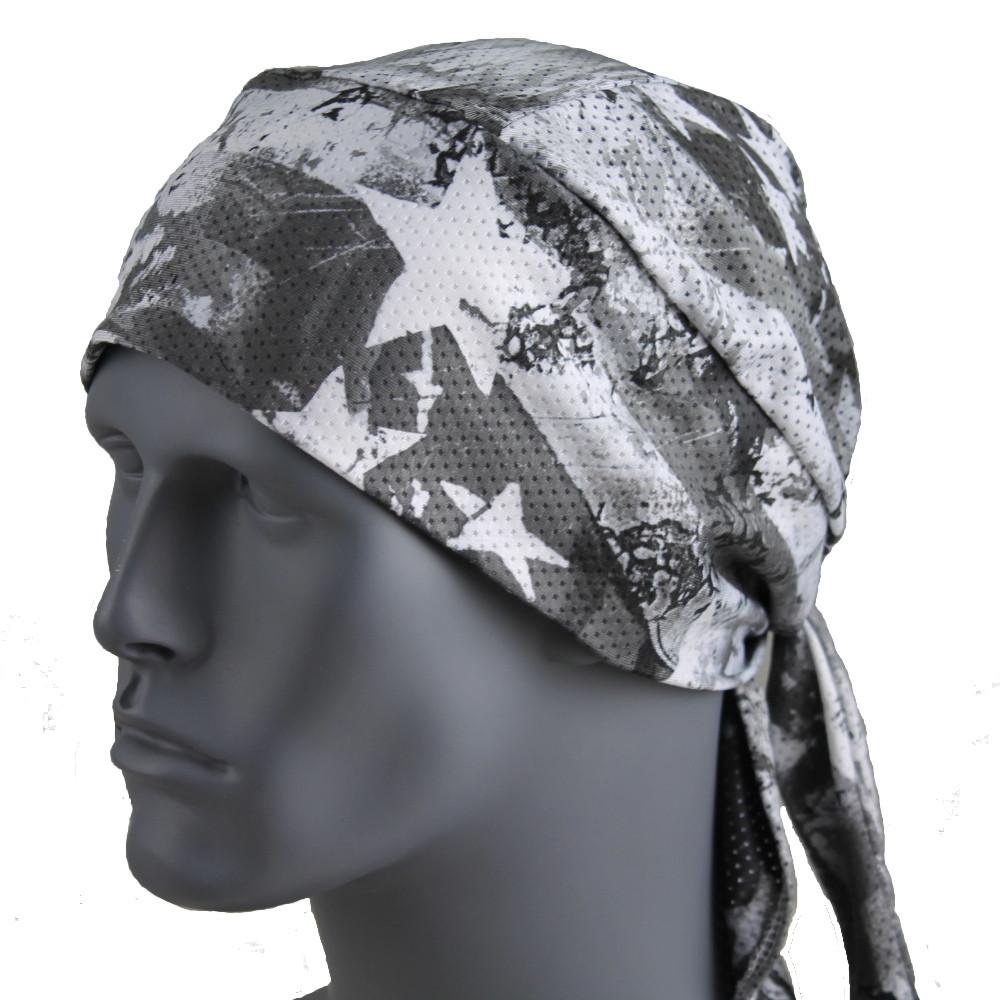Patriotic Stars - Gray