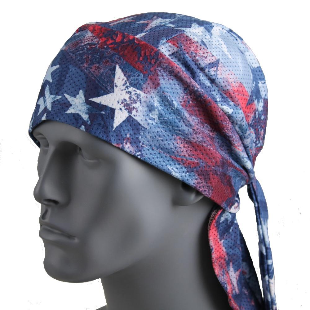 Patriotic Stars - Blue/Red