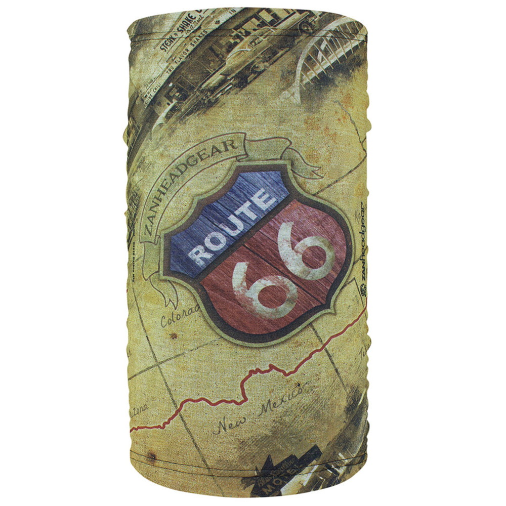 Fleece lined Motley Tube, Mother Road, 100% Polyester