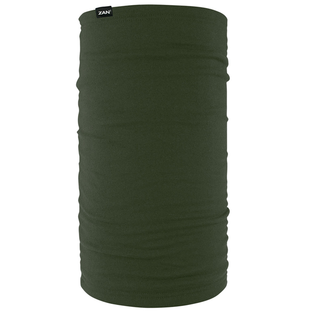 Fleece Lined Motley Tube, Olive, 100% Polyester