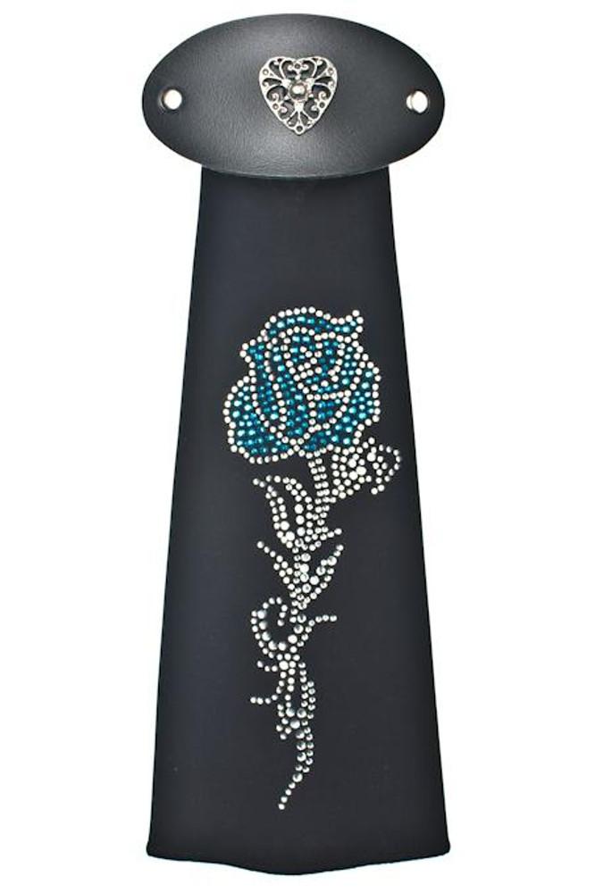 Spandex HairTube - Turquoise Rose