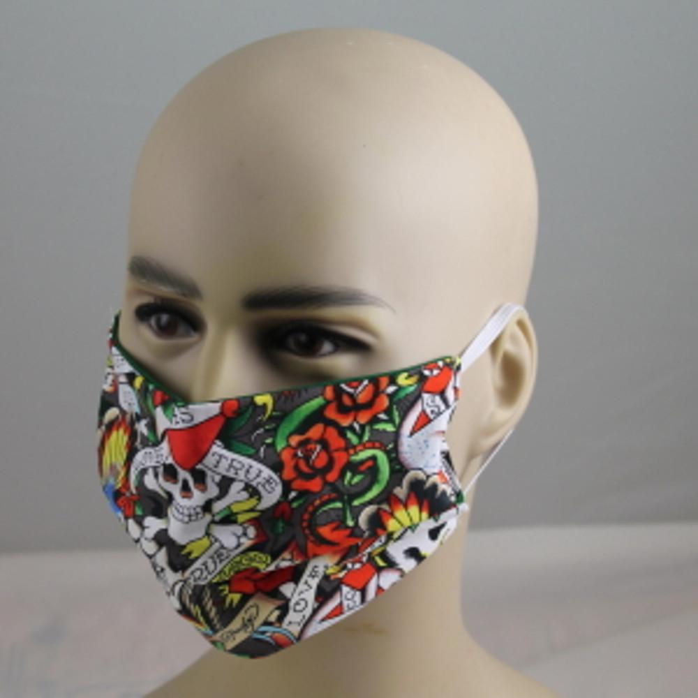 """""""Skull & Roses"""" - Face Mask"""