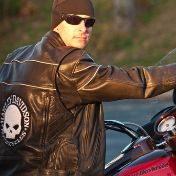 Black Riders Beanie by RidersWrap