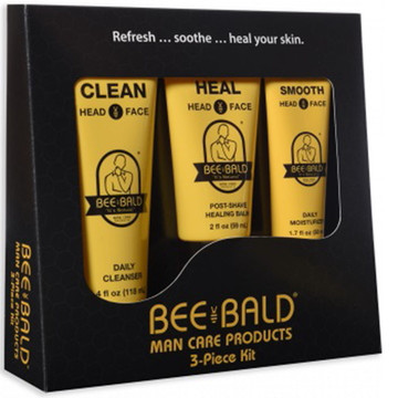 BEE BALD 3 PIECE SKIN CARE KIT