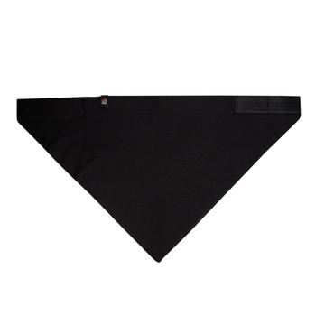 3-IN-1 Headband System, 100% Cotton, Black, Velcro