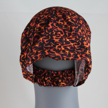 Motorcycle Doo-Z Headwear - Small Red Flames