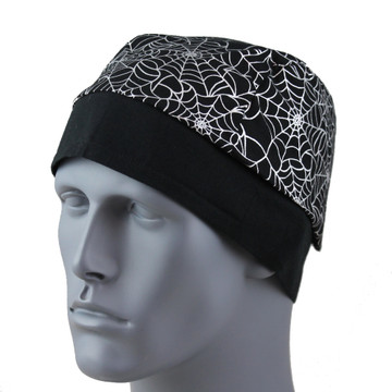 Silver Metallic Web By Doo Rag Station
