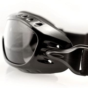 Night Hawk - Motorcycle Goggles - OTG Goggle With Smoked Anti-Fog Lenses