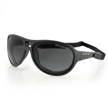 Sunglasses - Motorcycle -Criminal - Black Frame
