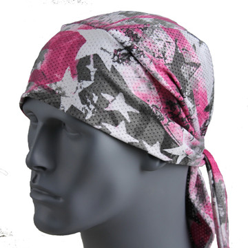 Patriotic Stars - Pink