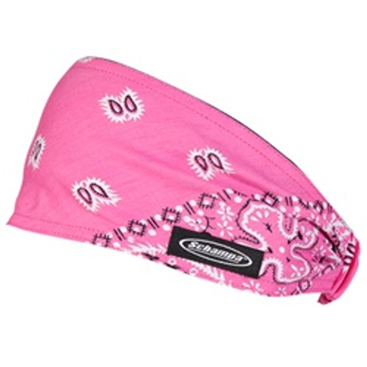 Mini DooZ - Hot Pink Ground White Black Paisley