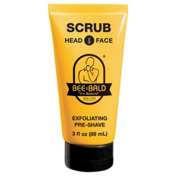 BEE BALD Scrub - 3 oz. Tube