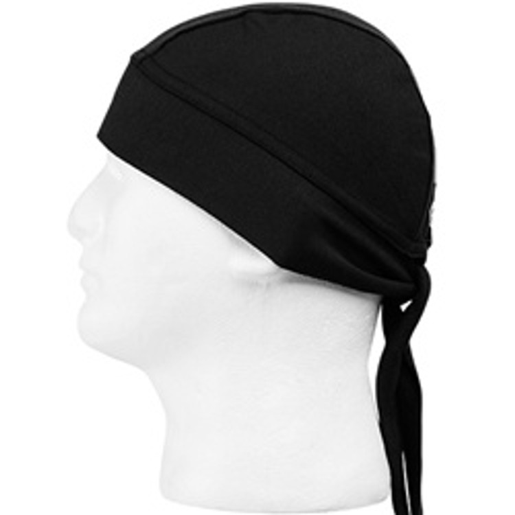 Schampa, Z-wrap, Stretch Bandana, Solid Black